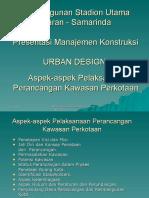 Urban Design MK Stadion Samarinda
