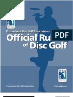 PDGA2007rulebook