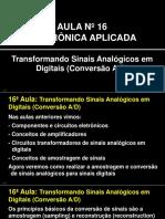 Transformando Sinais Analógicos em Digitais (Conversão A-D)