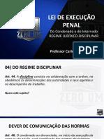 05 - LEI DE EXECUÇÃO PENAL - DO CONDENADO E DO INTERNADO - DO REGIME JURÍDICO-DISC 21-08.pdf