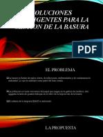 SOLUCIONES INTELIGENTES PARA LA GESTION DE LA BASURA Tarija