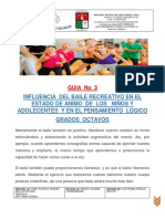 GUIA NO 3  BAILE  RECREATIVO  DANZA  MOVIMIENTO  Y PENSAMIENTO LOGICO 06- 05.2020.pdf