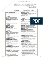 Human Resources English-Portuguese Glossary