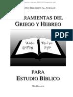 Griego hebreo herramientas