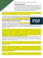 erik gomez - ESCUELAS DE LA TEORÍA DE LA INTERPRETACIÓN Y ARGUMENTACIÓN JURÍDICA