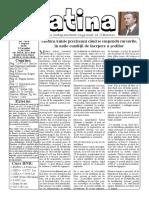 Datina - 7.08.2020 - prima pagină