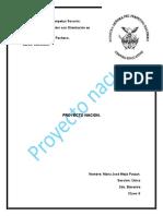 proyecto nacion  Maria Jose