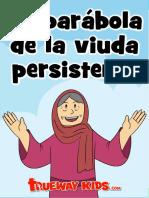 La parábola de la viuda persistente