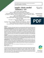 Digital supply chain model