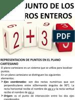 TEMA 2-REPRESENTACION DE PUNTOS EN EL PLANO CARTESIANO