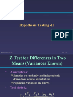Hypothesis testing II.ppt