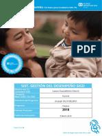 Formatos EVALUACIÓN DE DESEMPEÑO - CUIDADORAS Periodo 2018. - Carmen medina