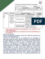 HOJA DE TRABAJO 01-IIIBIM-CIENCIA Y CONOCIMIENTO CIENTÍFICO