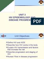 1. UNIT 3_ HIV-AIDS Epidemiology and Disease Progression_11 FEb