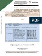 Agenda Reunión de Evaluacion CTS 2019-2020