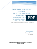 ensayo factores psicologicos de riesgo y proteccion