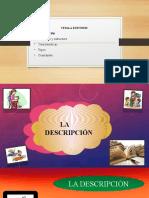 La Descripción Español II.pptx