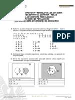 Taller - Operaciones entre Conjuntos (1)