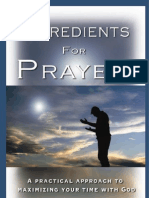 Ingredients for Prayer ebook