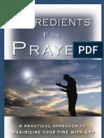 Ingredients for Prayer ebook