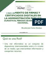 TRATAMIENTO DE FIRMAS Y  CERTIFICADOS DIGITALES EN  LA ADMINISTRACIÓN PÚBLICA
