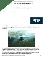 Impacto del calentamiento global en la Antártida – CHARLAS DE SEGURIDAD