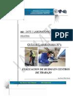 LAB 1 Evaluacion de ruido en los centros de trabajo