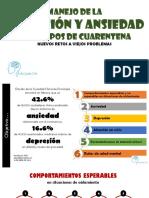 Manejo de la DEPRESION y ANSIEDAD en tiempos de la cuarentena