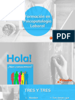 Presentación - Psicopatología Laboral - Módulo 1.pdf