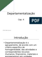 Departamentos estruturais