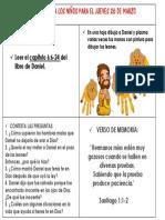 DANIEL EN EL FOSO