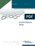 Crystal Reports Setup