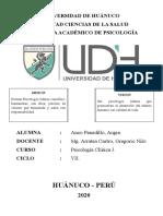 DIFERENCIAS CIE 10 - DSM V