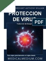 Como Protegerse de Virus. Anthony William .Traducciongoogle