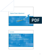 4. DWDM Optical Power Debugging