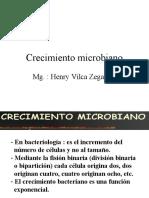 2.-CRECIMIENTO Y METABOLISMO MICROBIANO