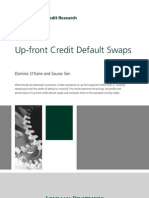 Up-front Credit Default Swaps