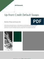 Up-front Credit Default Swaps