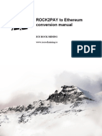ROCK2PAY to Ethereum conversion manual