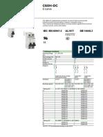 Catalog C60H-DC