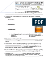 crash course psychology 1 intro to psychology