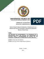Preparación F. Jiménez (2014)