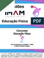 Concursos Educação Física - IMAM