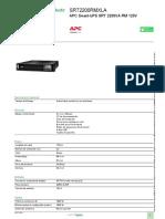 Smart-UPS en línea_SRT2200RMXLA
