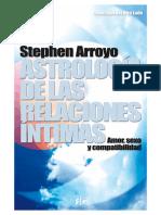 Astrologia de Las Relaciones Intimas - Stephen Arroyo