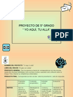 proyecto 5° grado