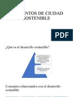 ELEMENTOS DE CIUDAD SOSTENIBLE