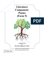 FORM 5 POEMS EXERCISES
