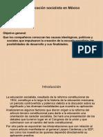La educación socialista en México