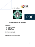 starbuck strategic analysis term paper Starbucks strategic plan � page \ mergeformat �23� running head: starbucks strategic planstarbucks strategic planuniversity of this paper will also distinguish between strategy and tactics, perform an environmental analysis, apply strategic choice to achieve long-term.